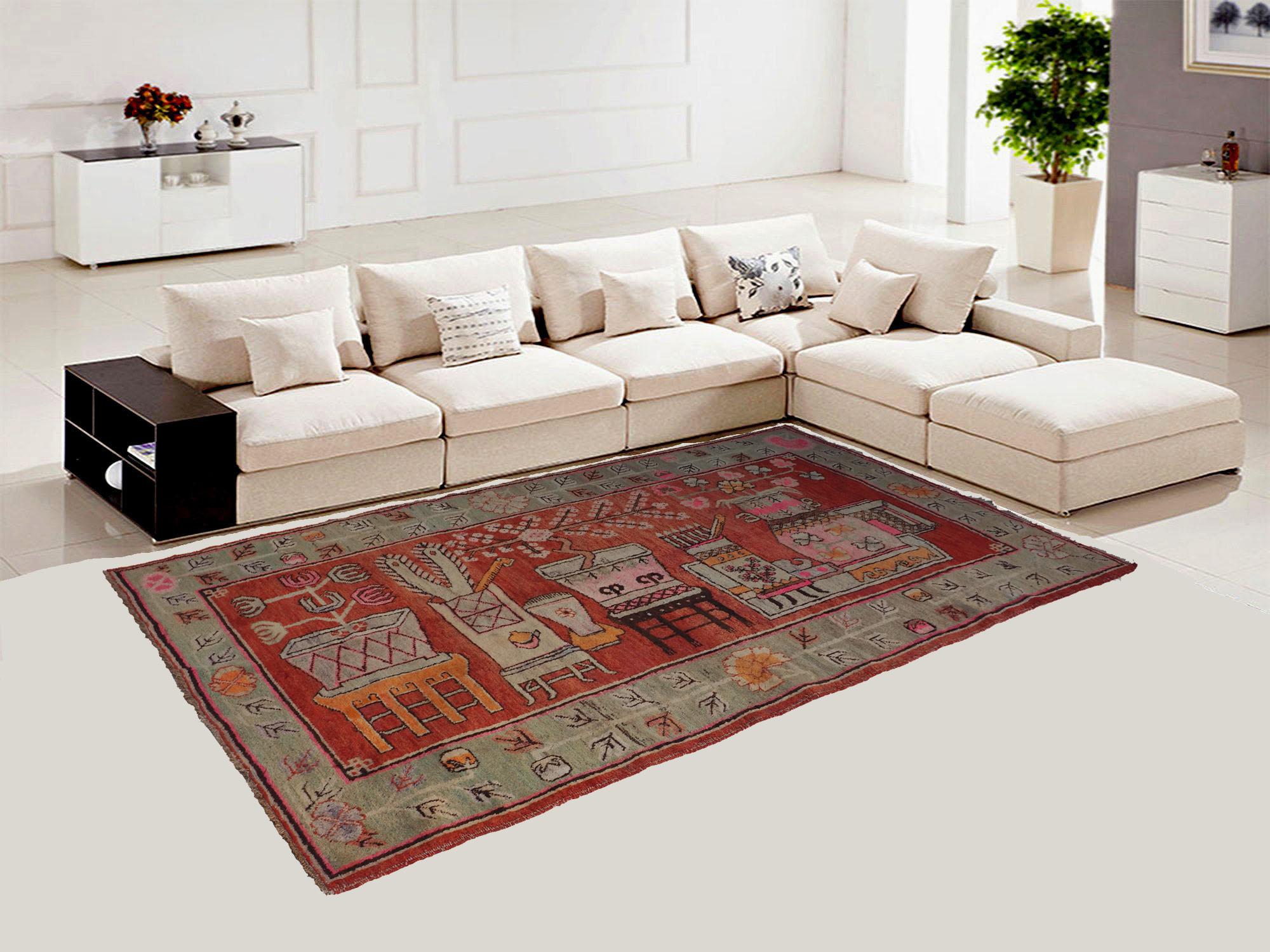 Bukhara 252x146 cm original antique Khotan Samarkand rug Chinese Turkestan hand knotted carpet No:21/41