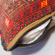 orient Afghan Tukmeische Teppich nomaden Handgeknüpft wollen Hochzeit Kissen sitzkissen bodenkissen cushion 1001-nacht aus Afghanistan BS/1