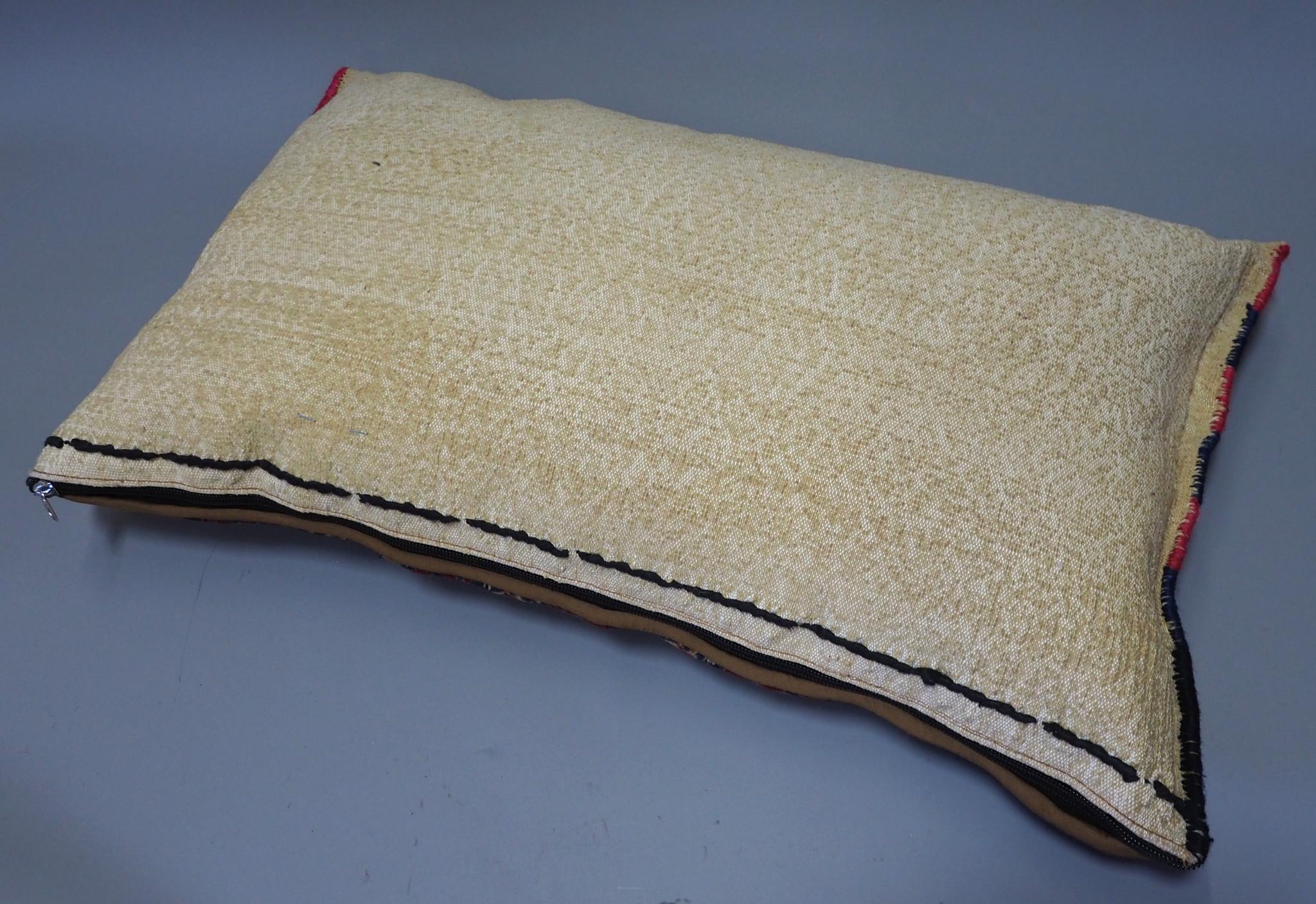 orient Afghan Tukmeische Teppich nomaden Handgeknüpft wollen Hochzeit Kissen sitzkissen bodenkissen cushion 1001-nacht aus Afghanistan BS/2