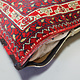 orient Afghan Tukmeische Teppich nomaden Handgeknüpft wollen Hochzeit Kissen sitzkissen bodenkissen cushion 1001-nacht aus Afghanistan BS/3