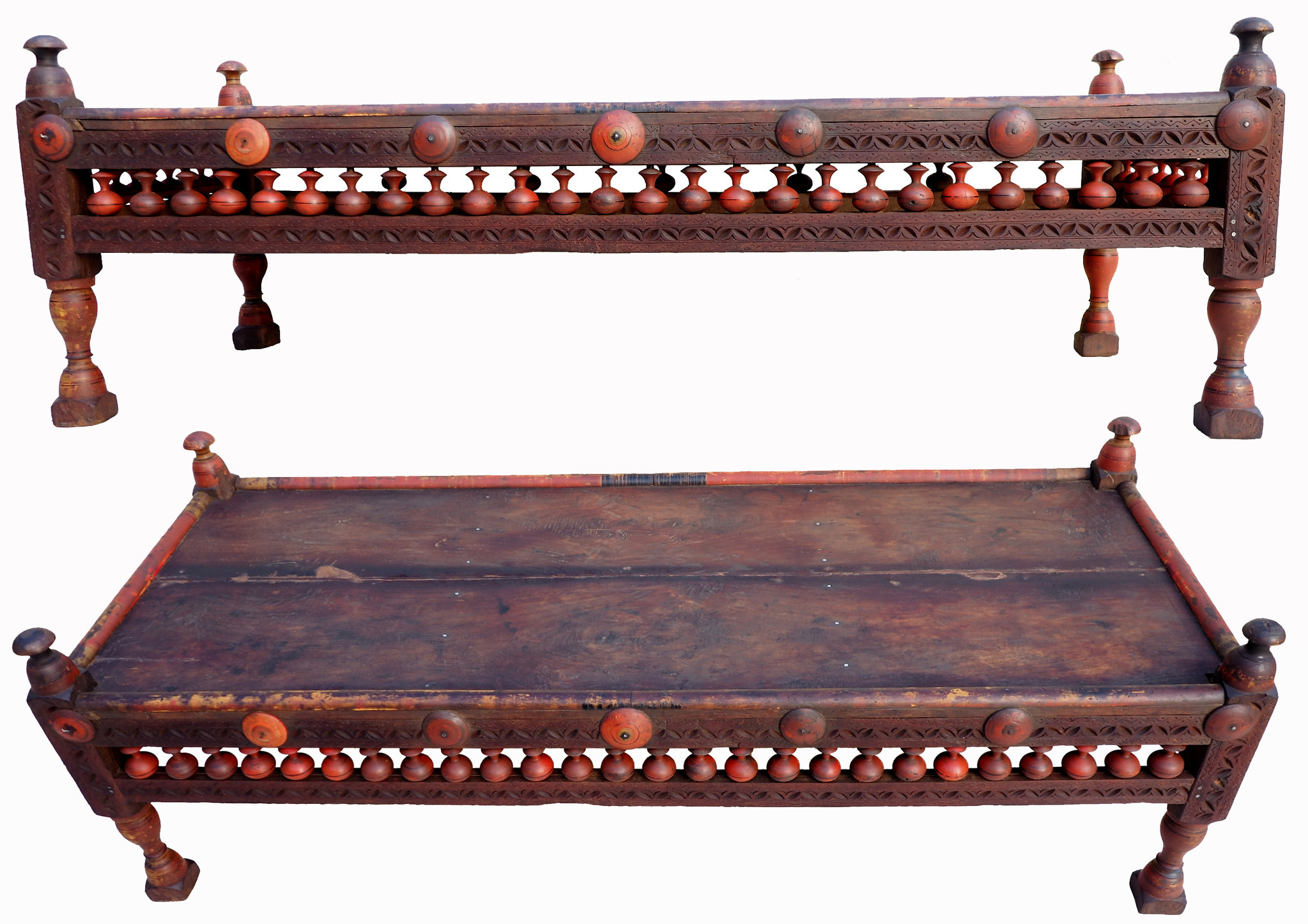 153x60 cm rare Antique solid wood orient tea table sidtable coffee table living room table from Afghanistan Pakistan WL/PJ/E