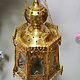 Egyptian Morocco Middle Eastern / Islamic Brass Hanging Mosque Lamp  Ceiling lamp from Afghanistan PK/A