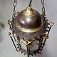 orientalische massiv Messing Decken Hängende Lampe Islamische Decken Lampe Moschee Lampe Ägyptische Marokko Nahost 21/B