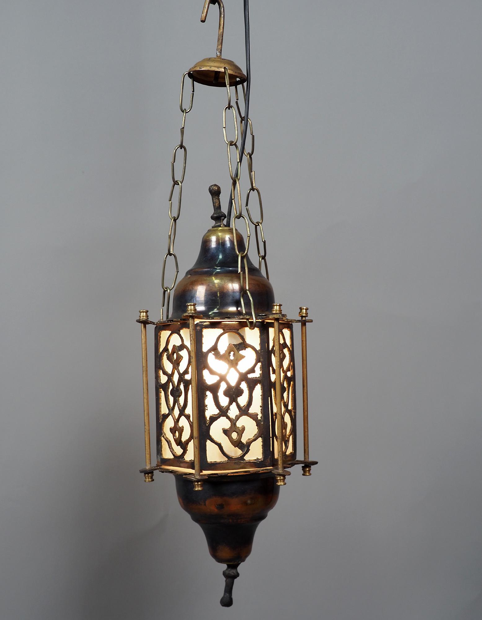 orientalische massiv Messing Decken Hängende Lampe Islamische Decken Lampe Moschee Lampe Ägyptische Marokko Nahost 21/2