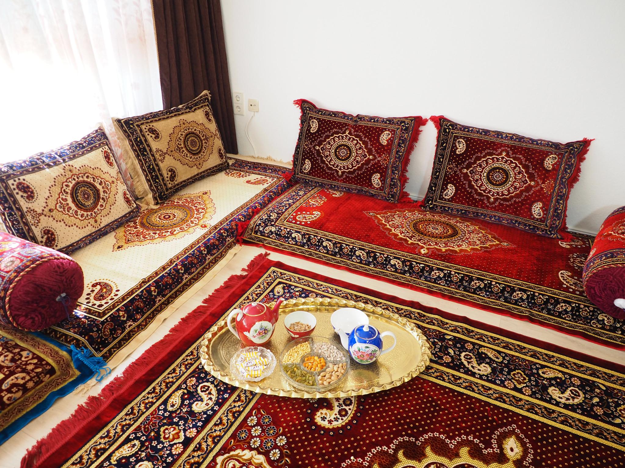 Afghan Sitzmatratzen (Toshak)