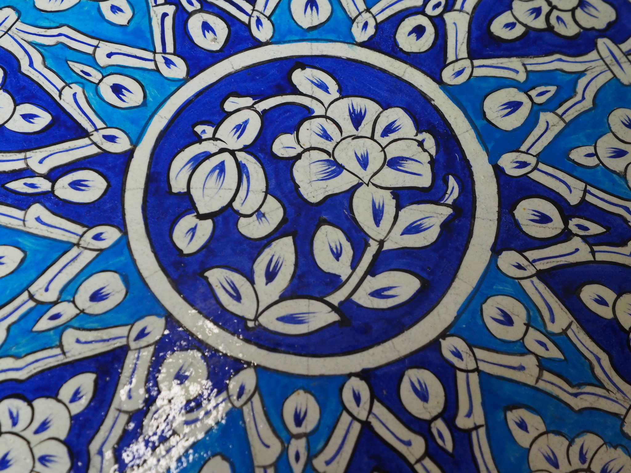 oriental hand made  Camel Skin leather  wall lamp from  Multan Pakistan W/7
