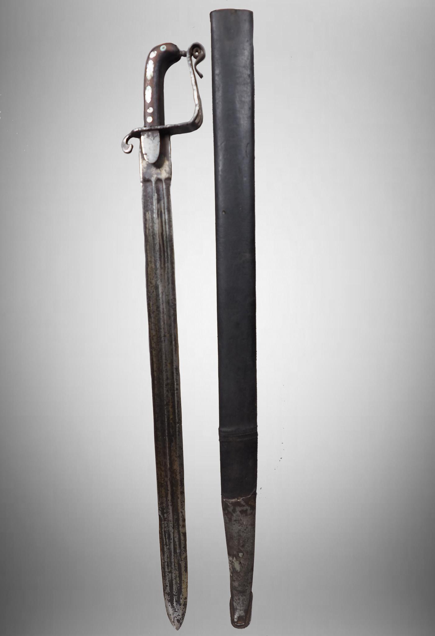 Antike Säbel messer schwert shamshir sword Knife aus Afghanistan Nr:KH15