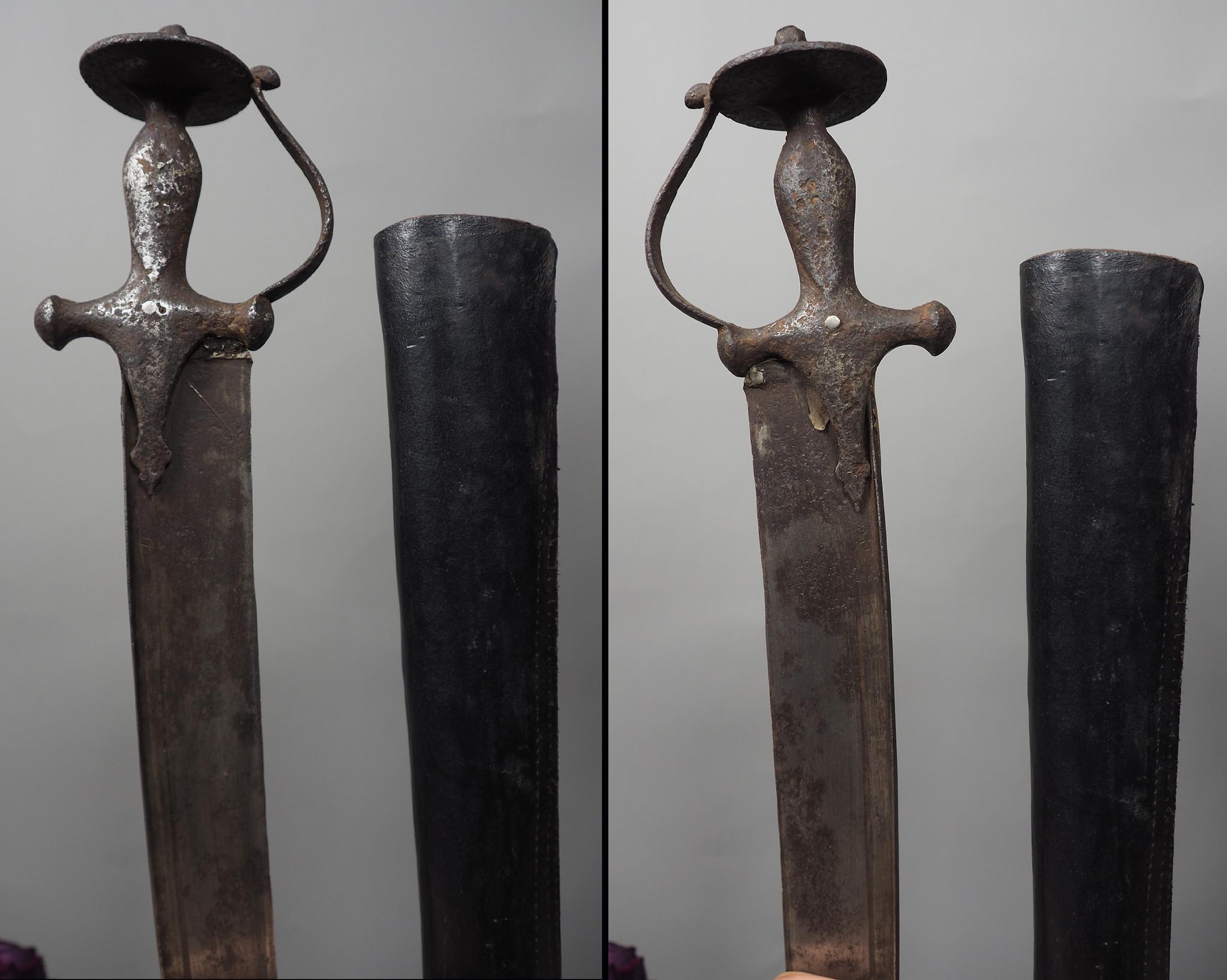 Afghanistan Shamshir An exceptional Sabre , A rare status afghan sword  Islamic  sword Dagger  No: KH28