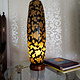 Camel Skin leather  table lamp IT/1