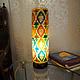 Orient Kamelleder Tischlampe IT/2