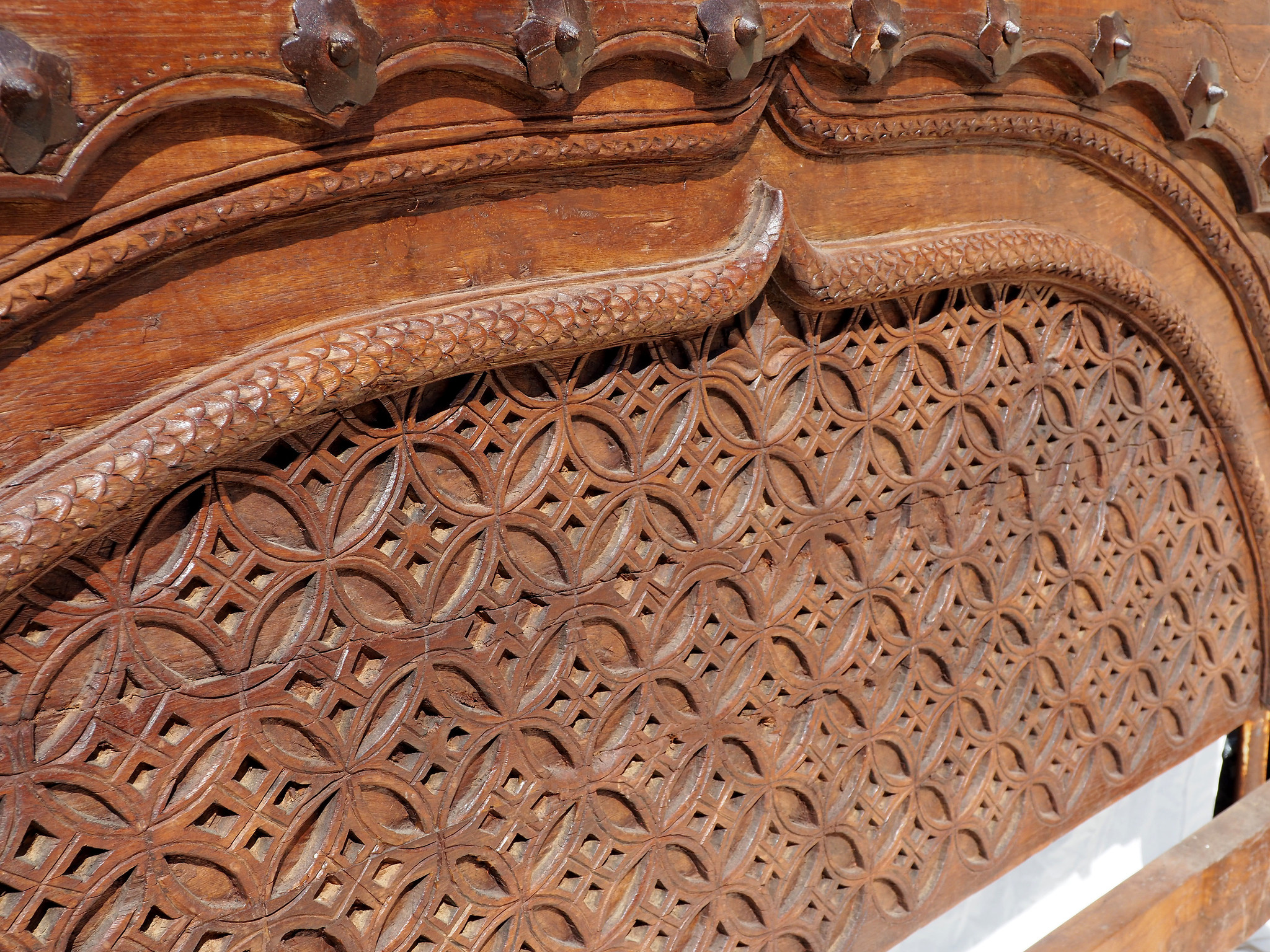 Antique double bed  swat valley No:WL/A
