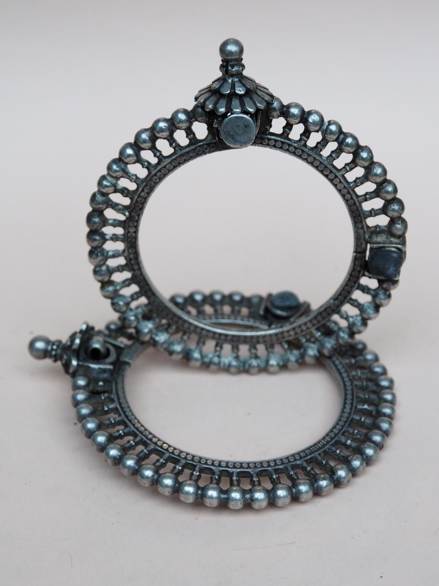 Antique handmade vintage Enamelled and Gold cuff Bracelet Multan and Sindhi Pakistan Jhanjhar No-21/WL  - Copy - Copy - Copy