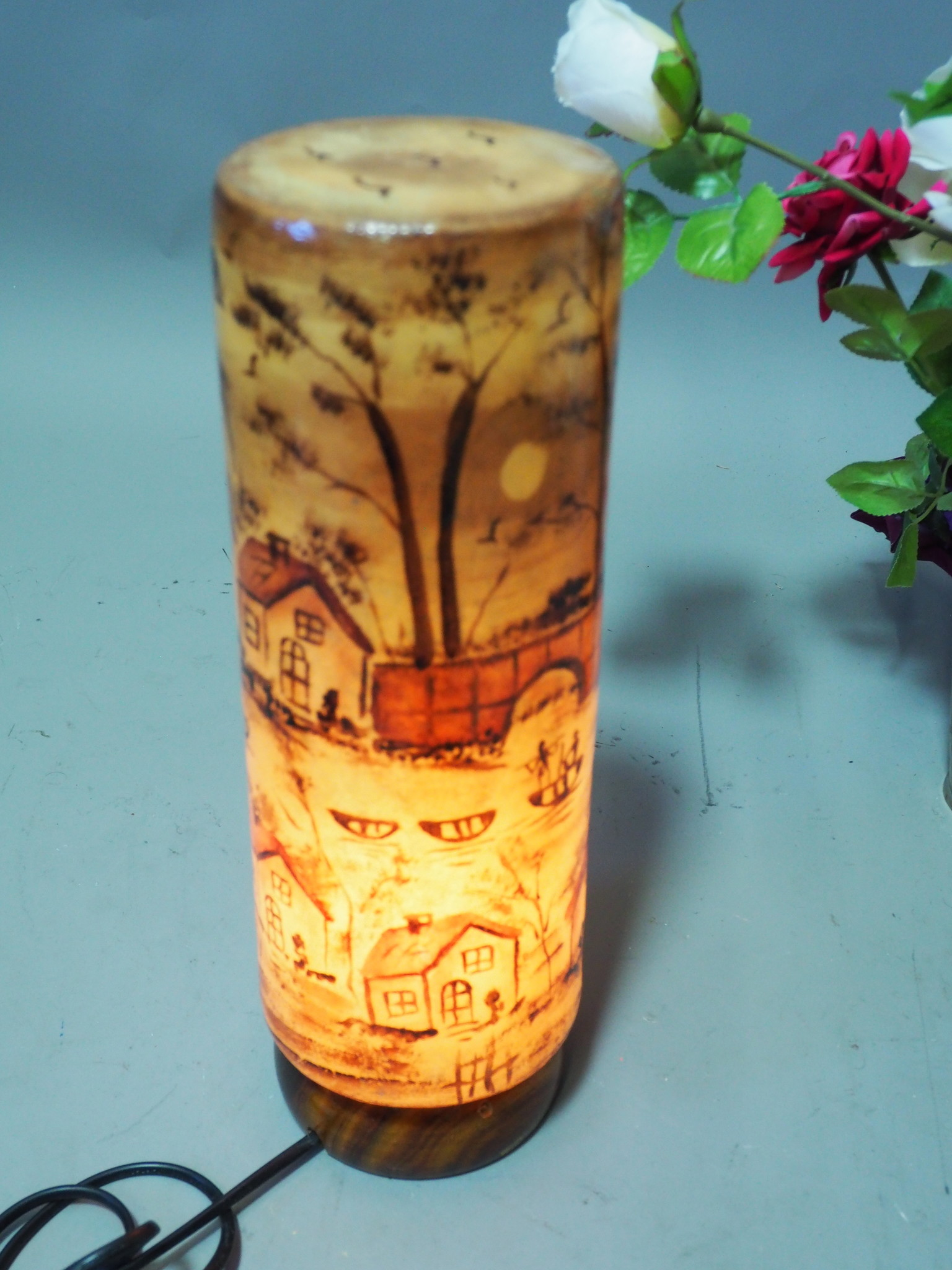 Orient Kamelleder Tischlampe IT/14