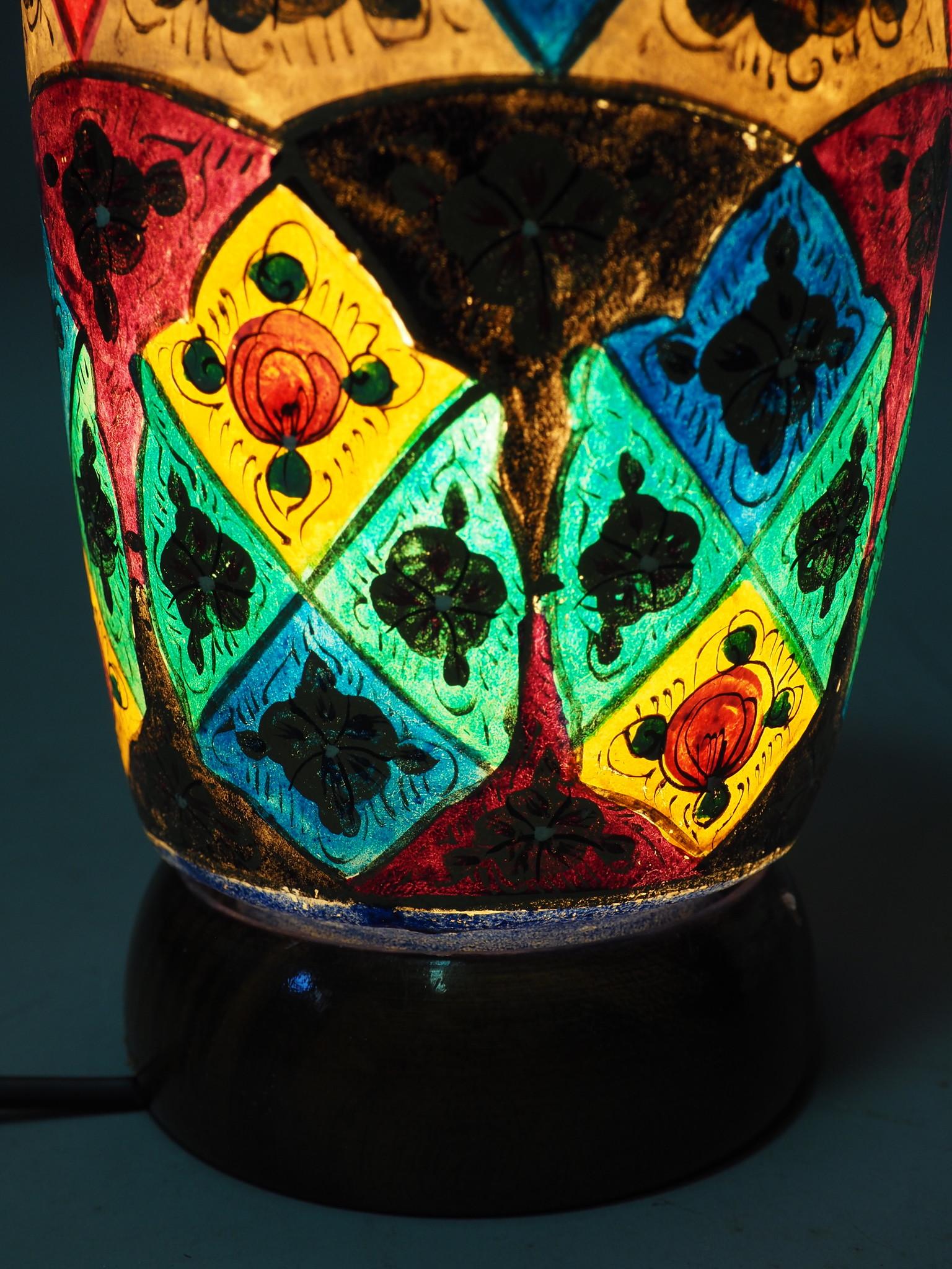 Orient Kamelleder Tischlampe IT/13
