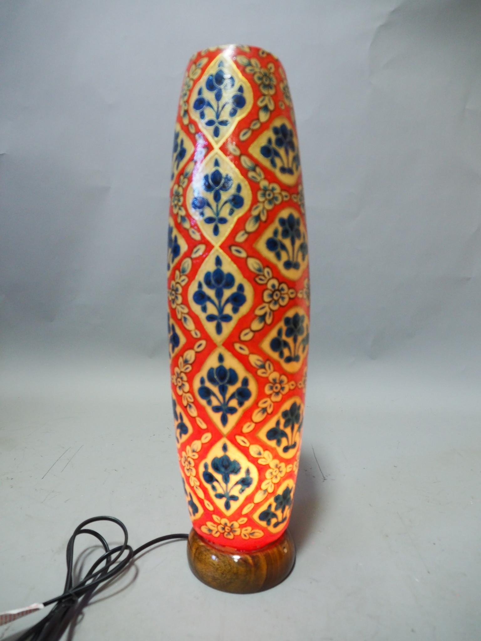 Orient Kamelleder Tischlampe IT/12