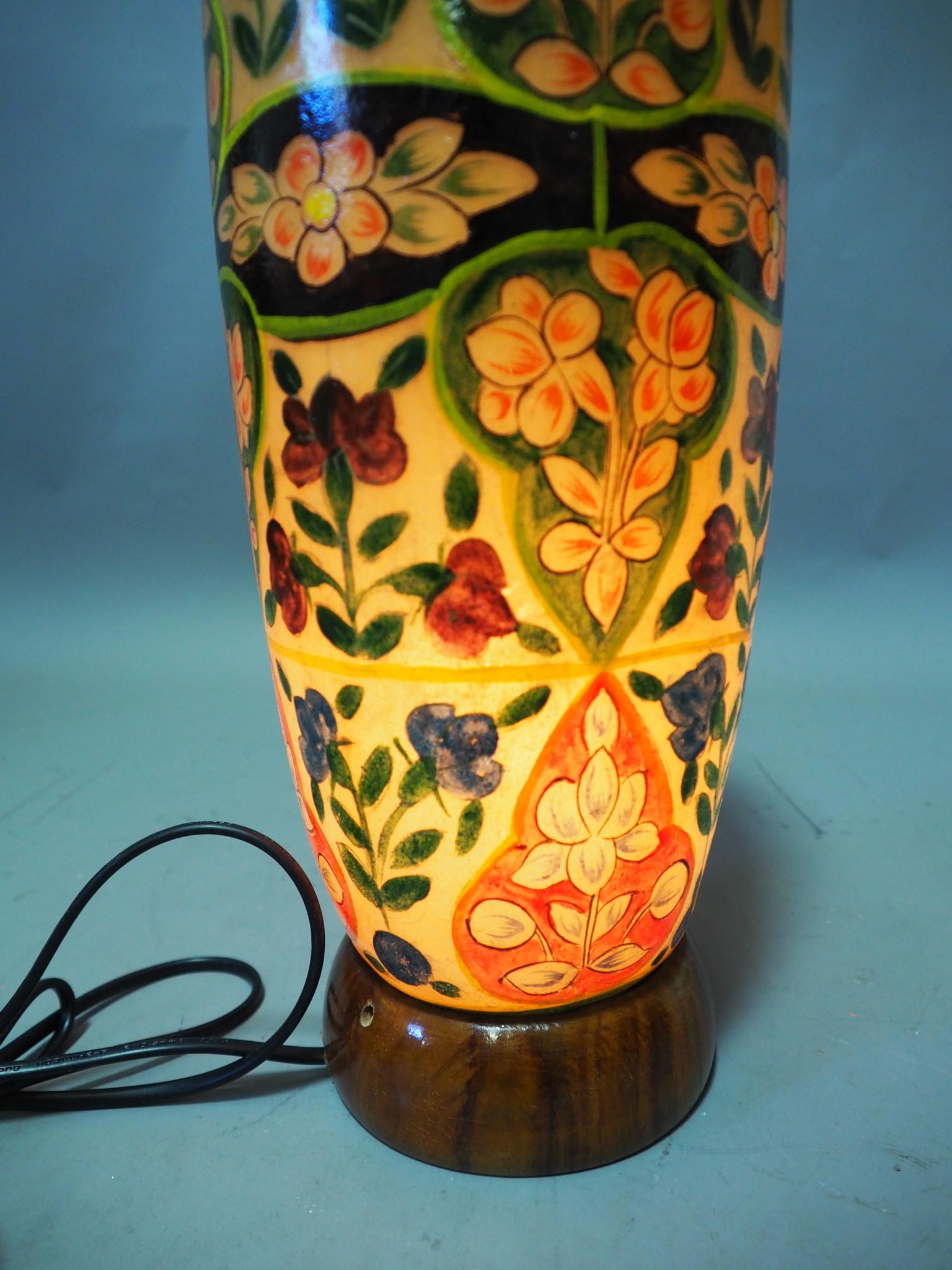 Orient Kamelleder Tischlampe IT/11