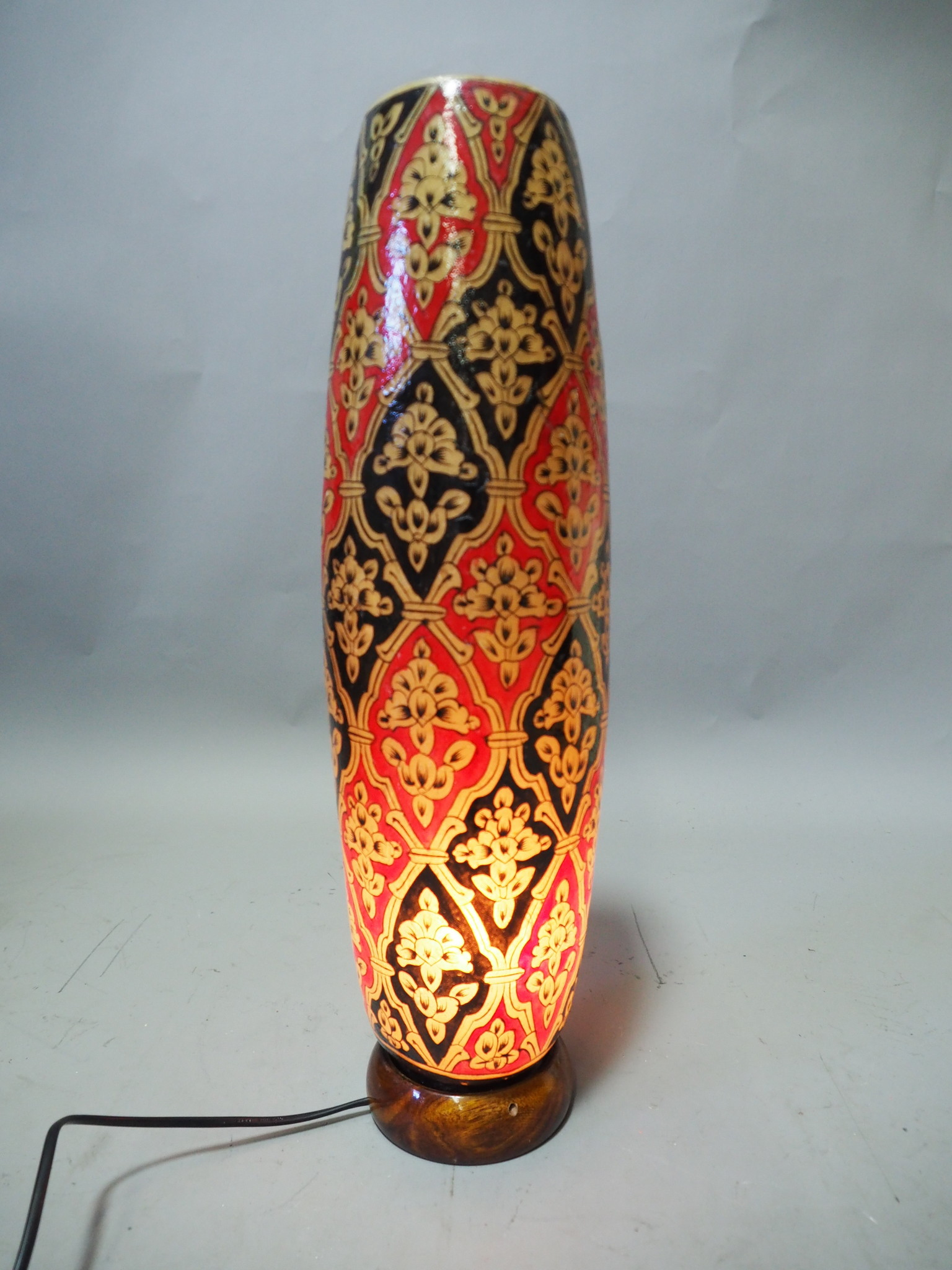 Camel Skin leather  table lamp IT/10