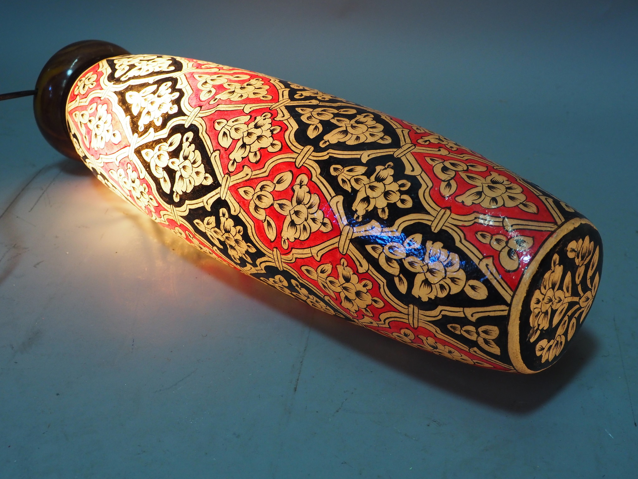 Orient Kamelleder Tischlampe IT/10