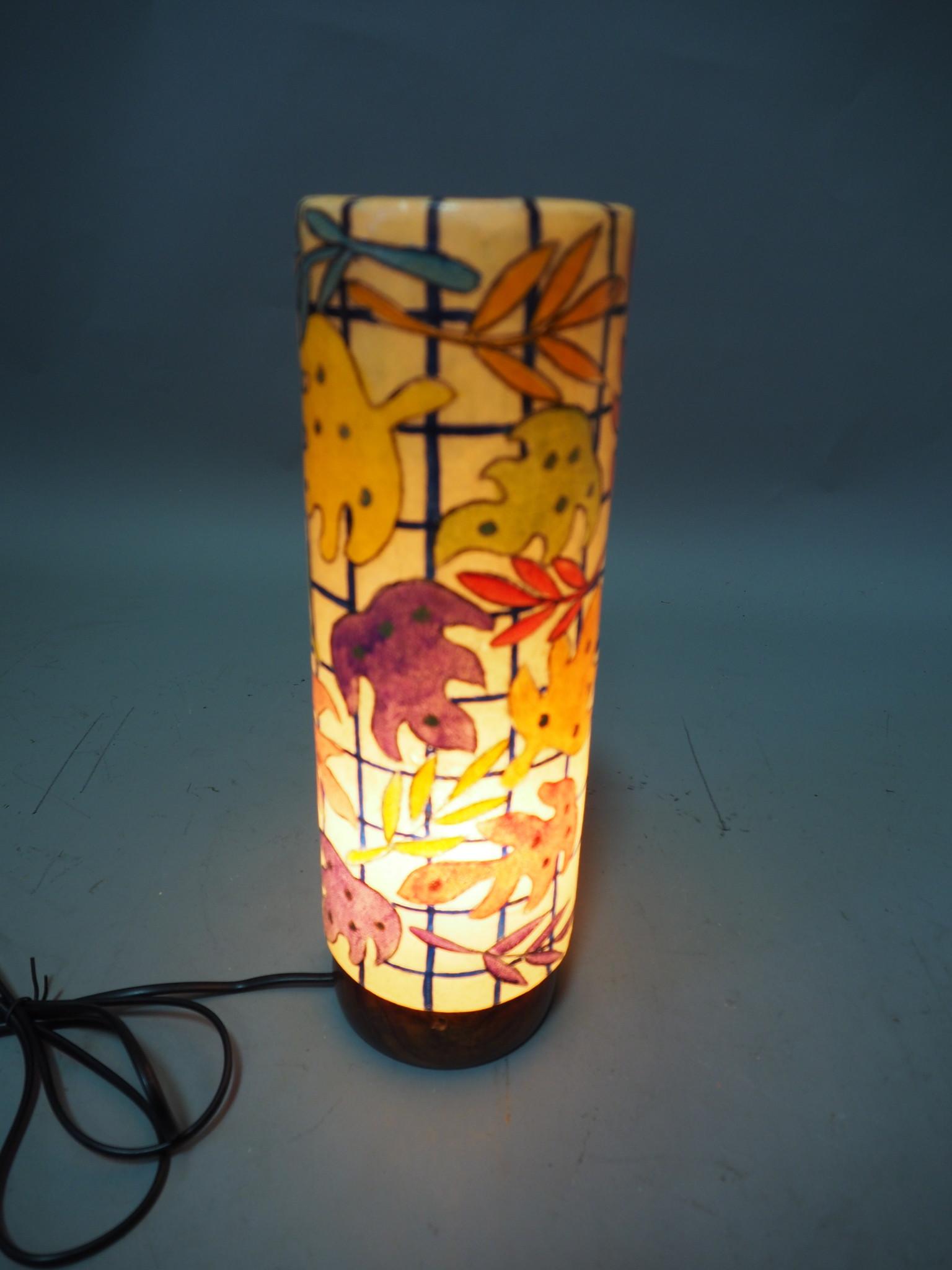 Orient Kamelleder Tischlampe IT/8