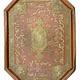 Antique Islamic Copper Inlaid BrassTray Arabic script hafiz poems Kashmir 1327