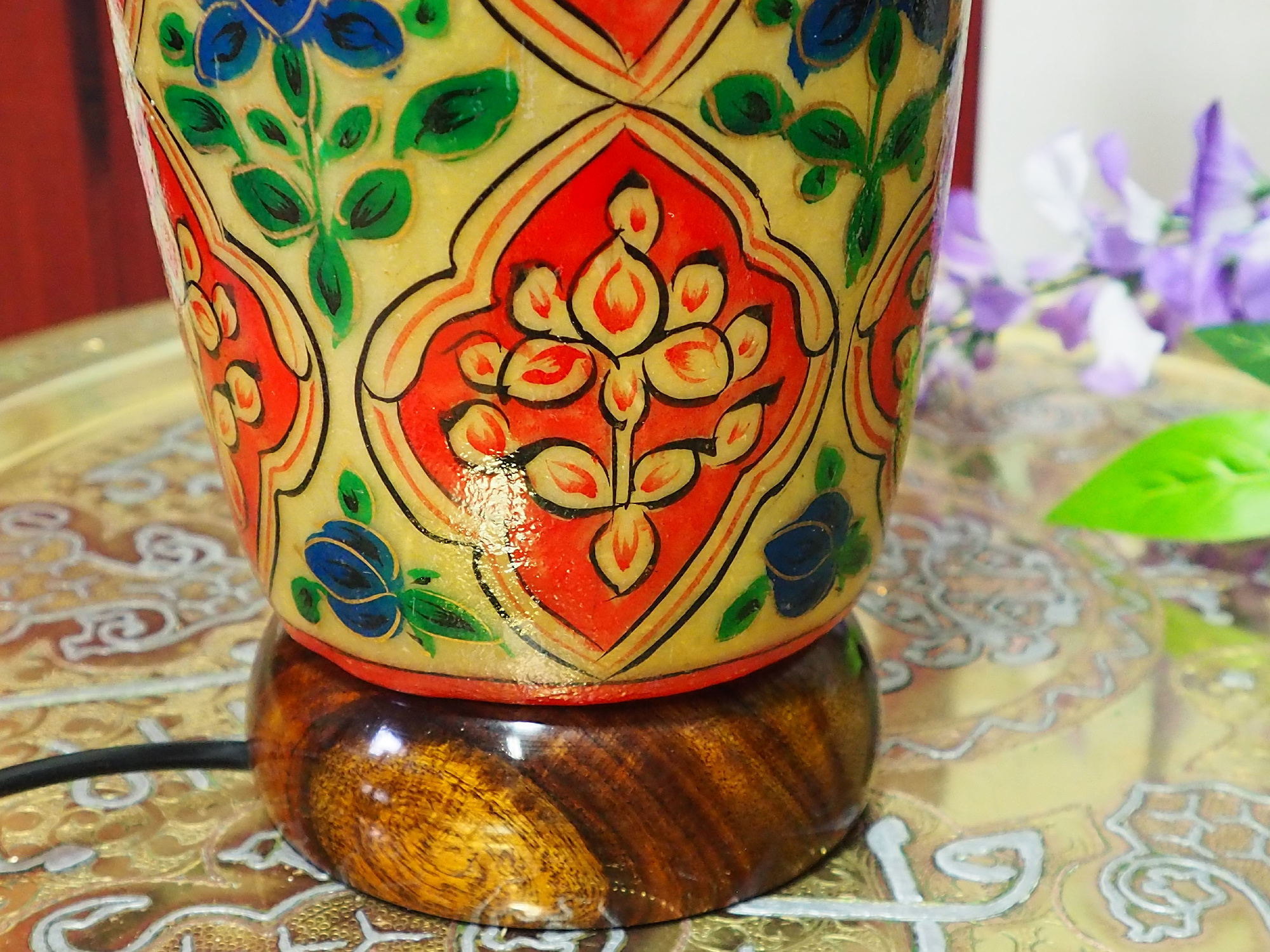 Orient Kamelleder Tischlampe IT/21