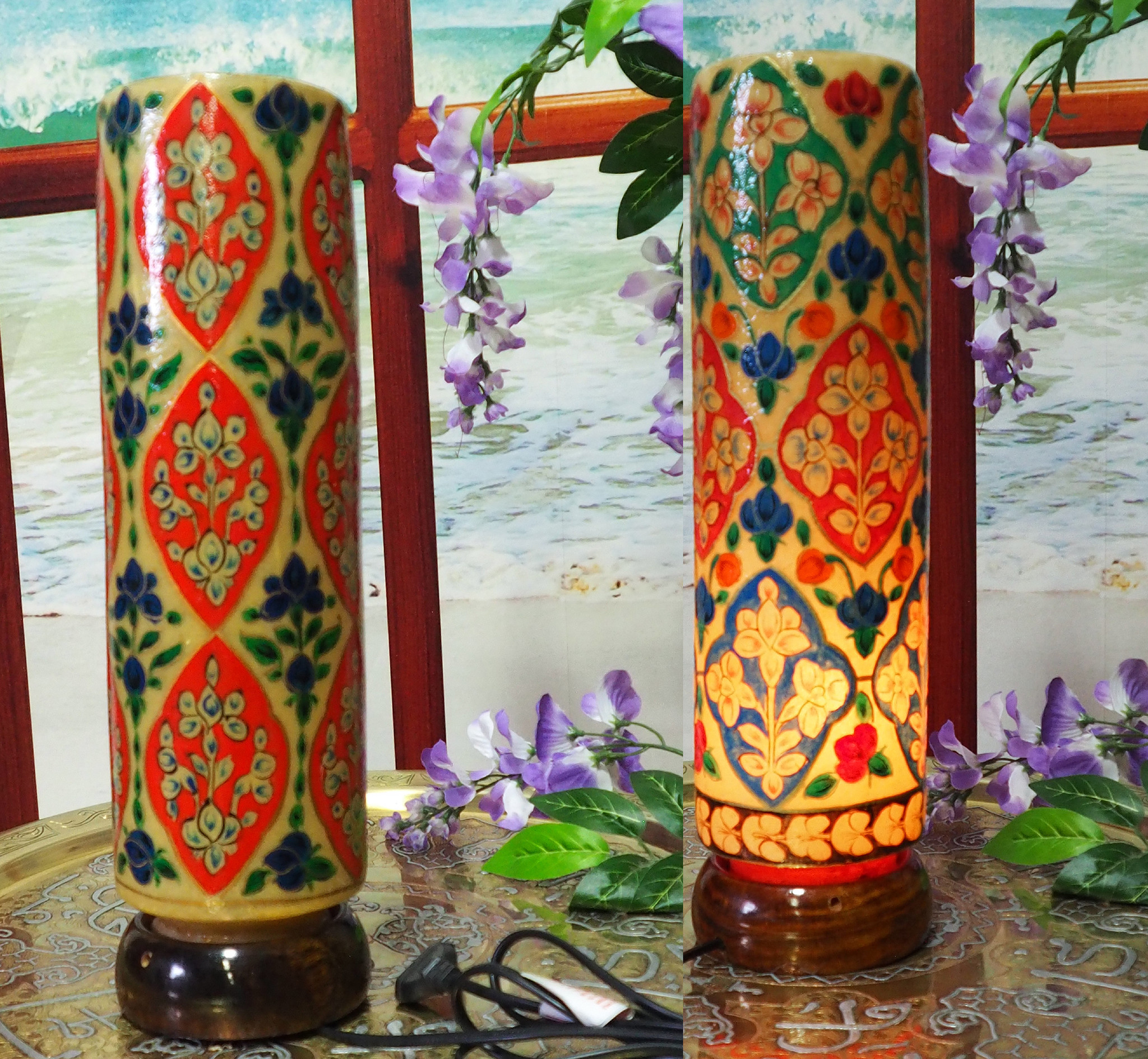 Orient Kamelleder Tischlampe IT/22