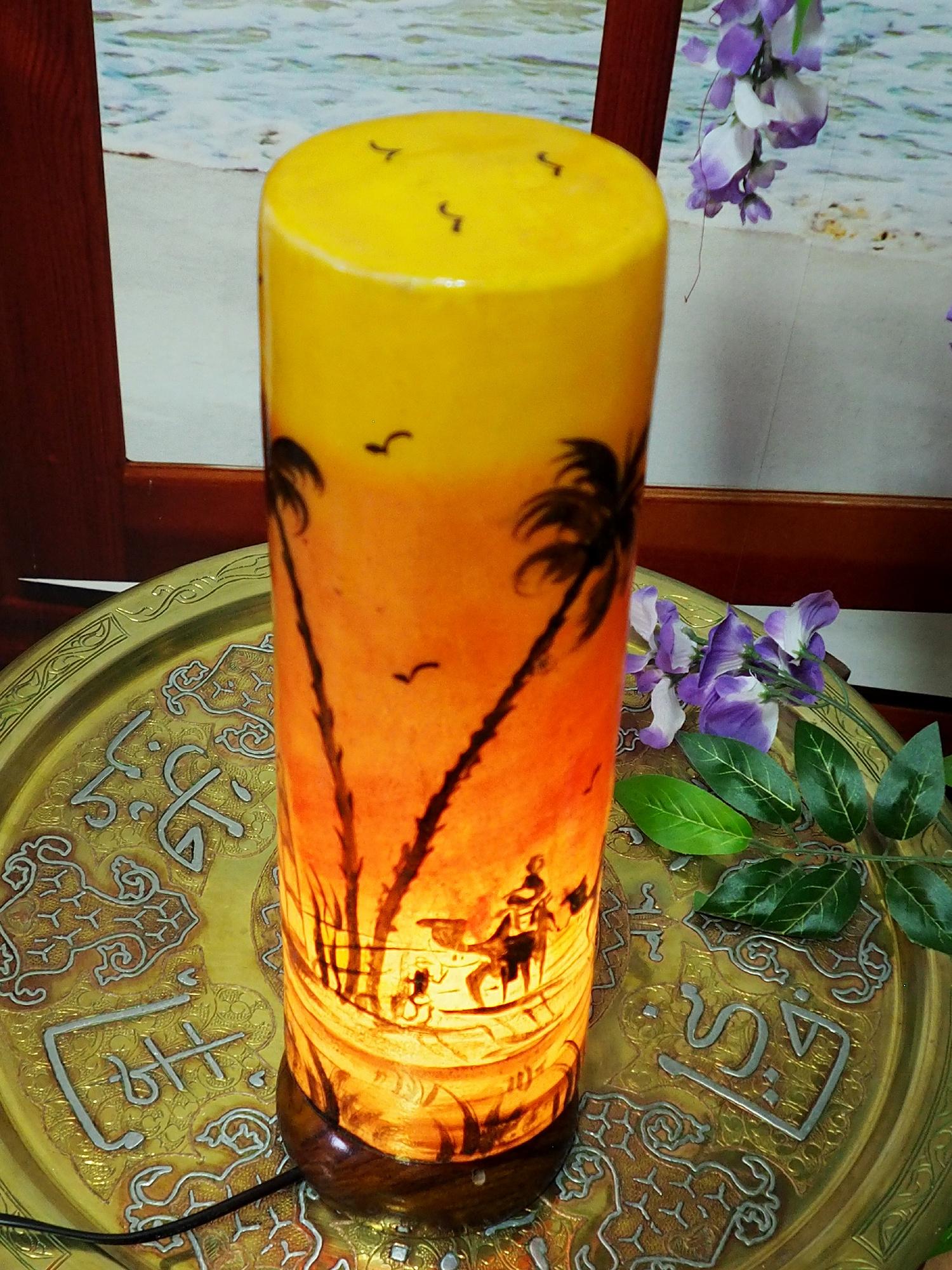 Orient Kamelleder Tischlampe IT/26