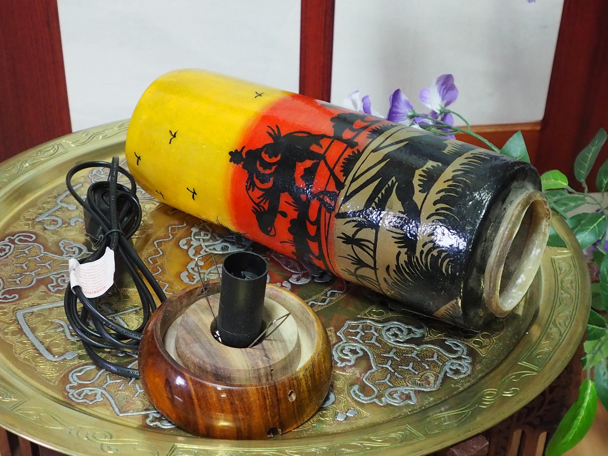 Orient Kamelleder Tischlampe IT/27