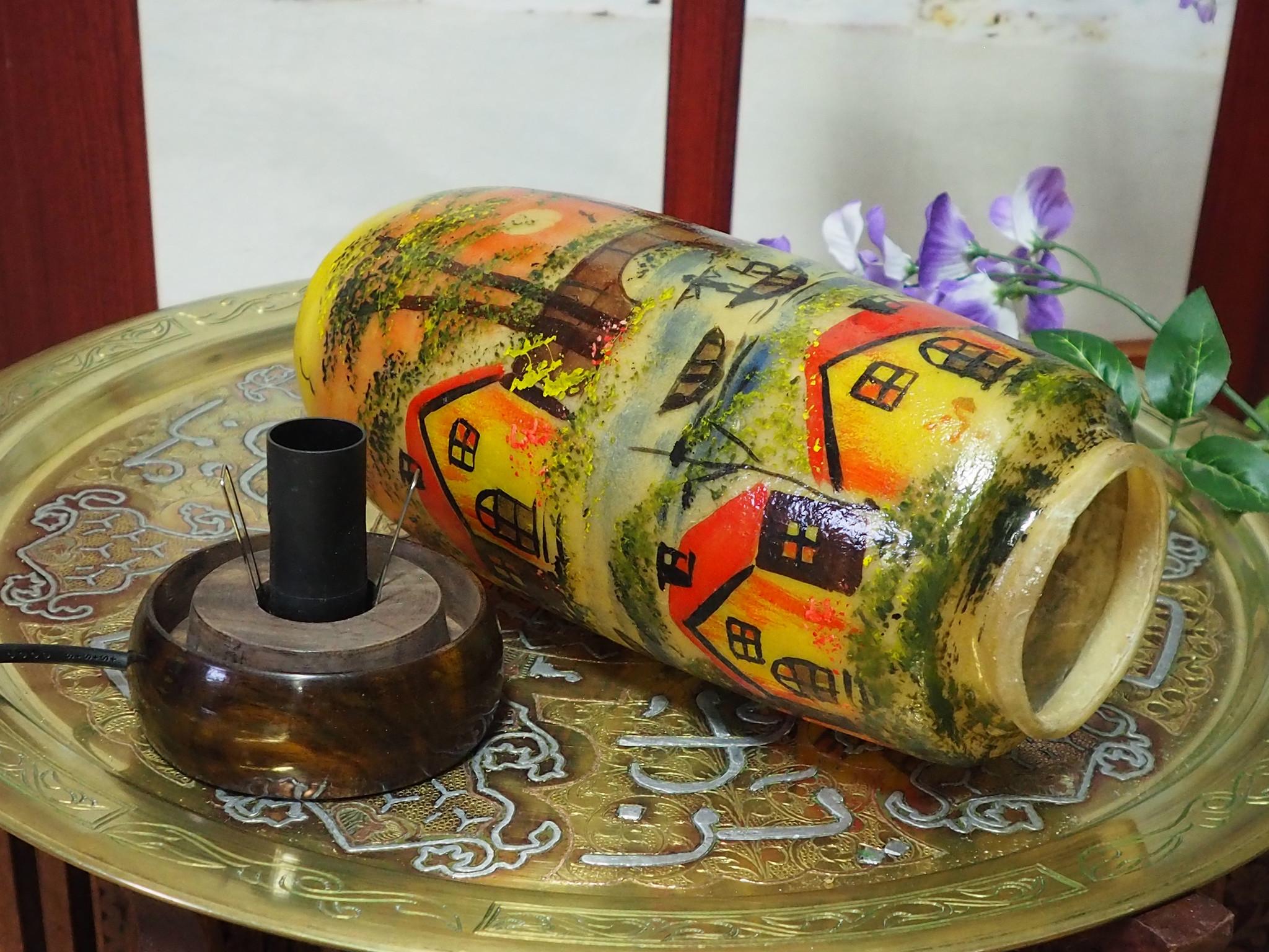 Orient Kamelleder Tischlampe IT/28