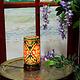 Orient Kamelleder Tischlampe IT/19