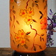 Camel Skin leather  table lamp IT/32
