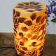Camel Skin leather  table lamp IT/37