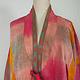 antike Usbekische Ikat Frauen Mantel Nr:21/2