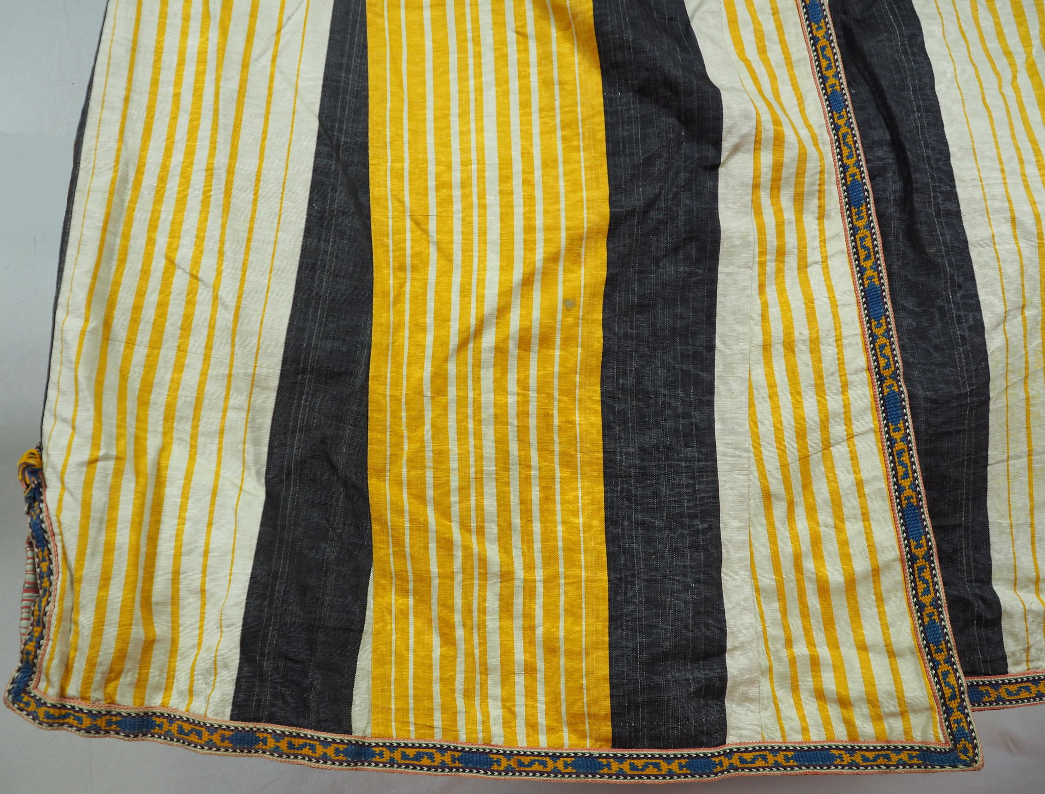 antike Usbekische Ikat Frauen Mantel Nr:21/3