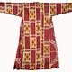 antike Usbekische Ikat Frauen Mantel Nr:21/4