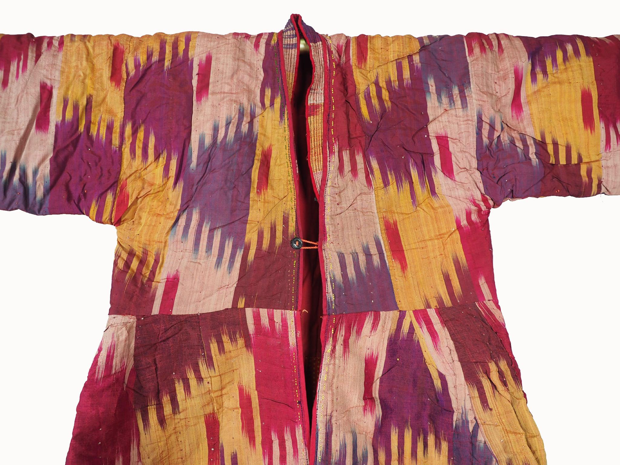 Antique women's silk coat chyrpy No:21/5