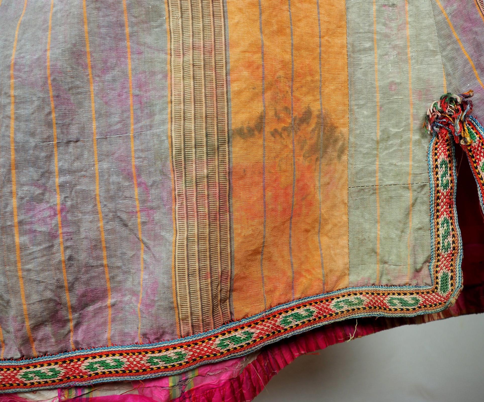 Antique women's silk coat chyrpy No:21/6