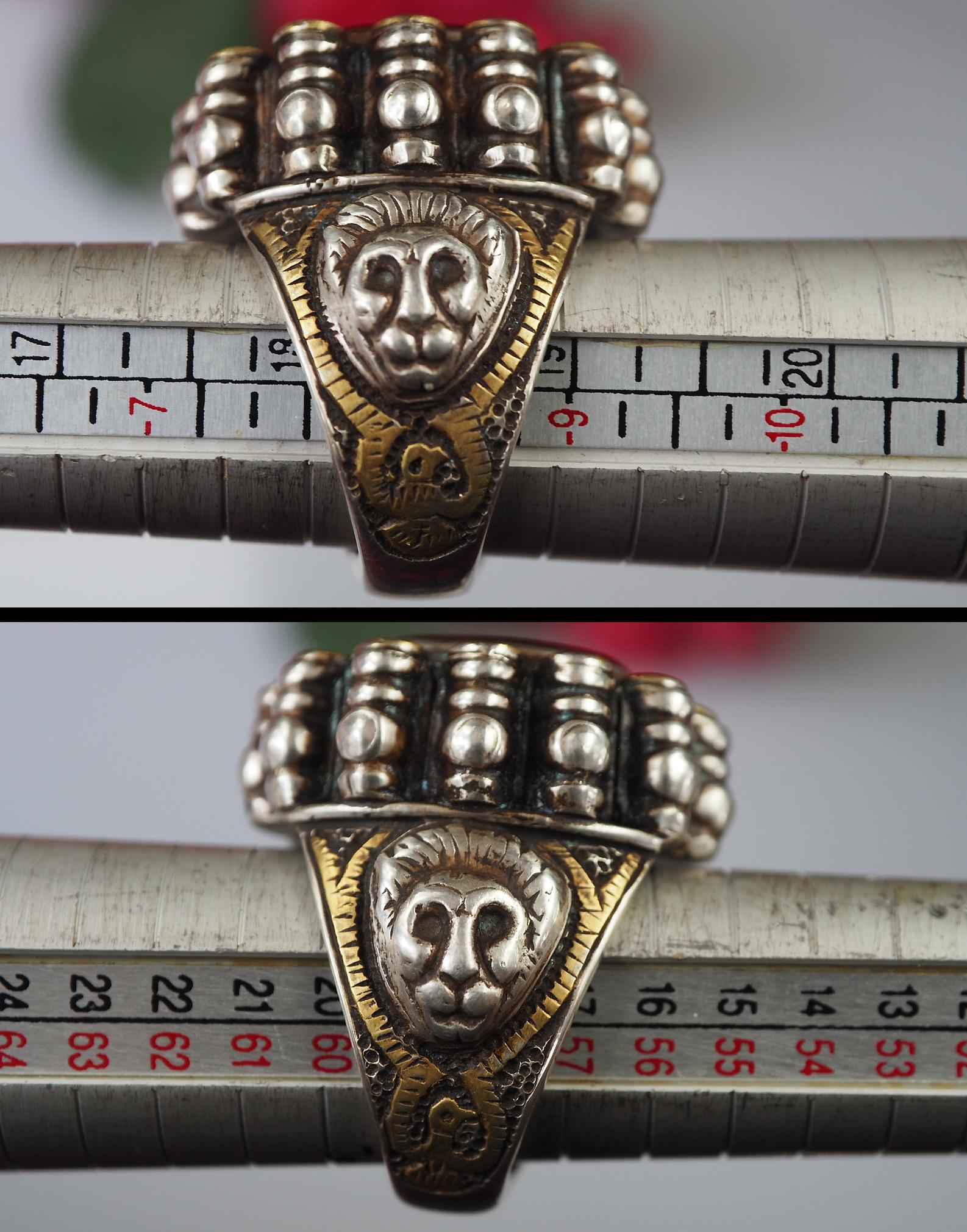 Turkmen Ring  Carnelian  seal stone No: 476