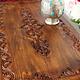 120x60 cm  Tisch  Nuristan Afghanistan