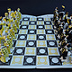 Moscow Russisches Porzellan schachspiel (Verbilki) Gardner-Fabrik ( Gold)
