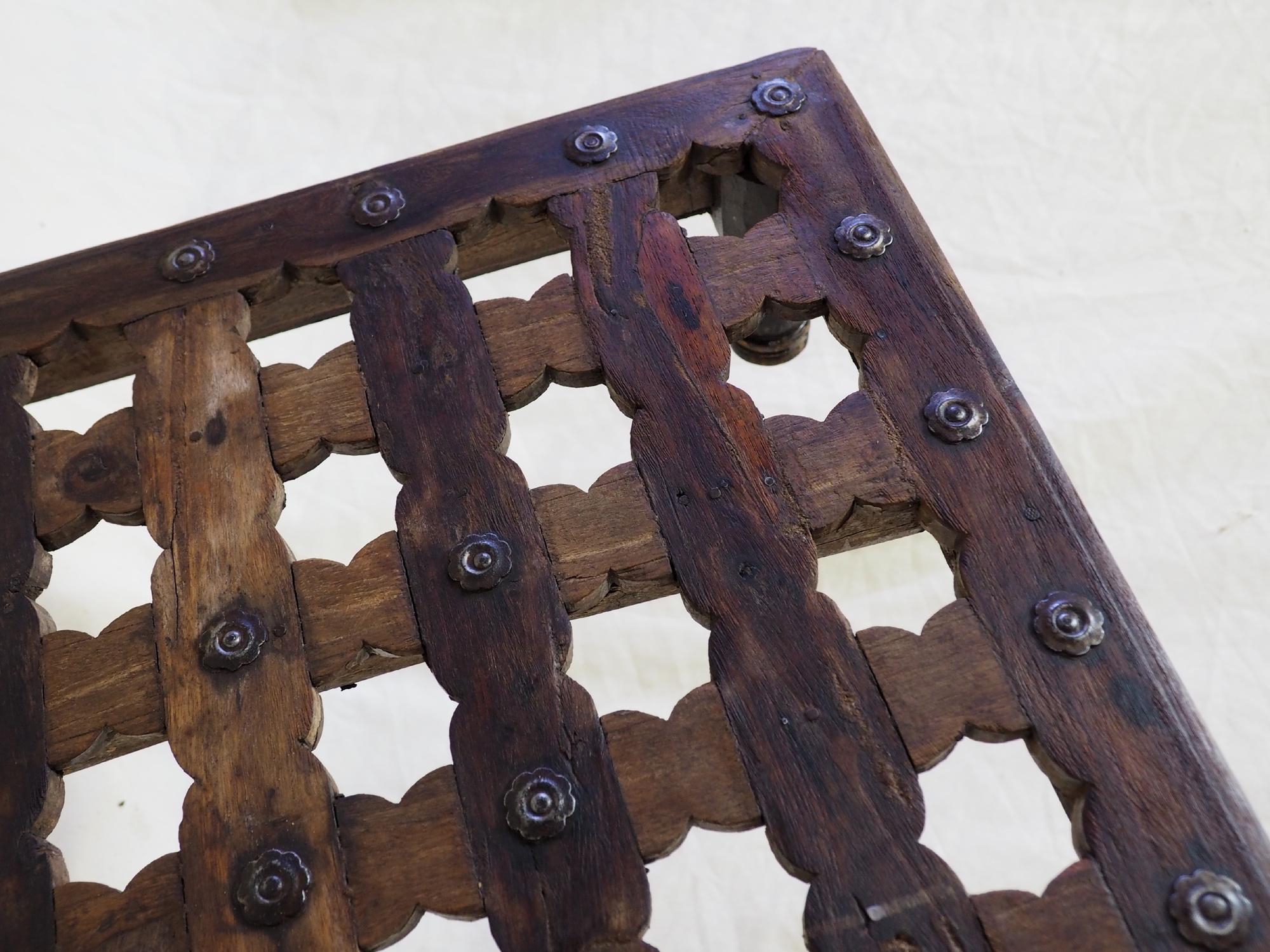 51x51 cm  Antique Mashrabiya Tea table side table india  Nr:21-B