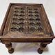 60x50 cm antik Maschrabiyya Teetisch  Beistelltisch Indien Nr:21-C