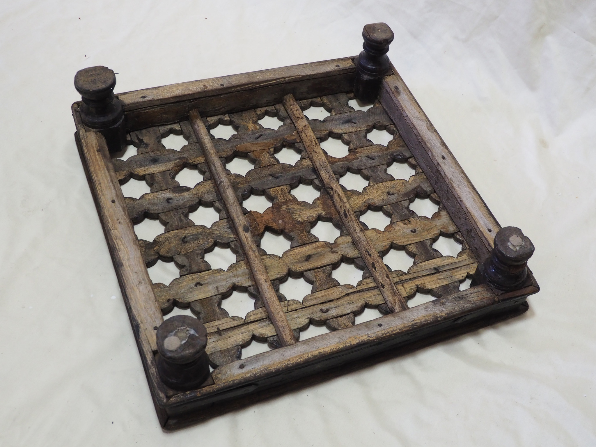 57x57 cm  Antique Mashrabiya Tea table side table india  Nr:21-A