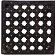 57x57 cm antik Maschrabiyya Teetisch  Beistelltisch Indien Nr:21-A