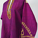 antique hand embroidered nomadic Kuchi Ethnic silk wedding dress from Afghanistan No-21/8