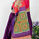 antique hand embroidered nomadic Kuchi Ethnic silk wedding dress from Afghanistan No-21/9