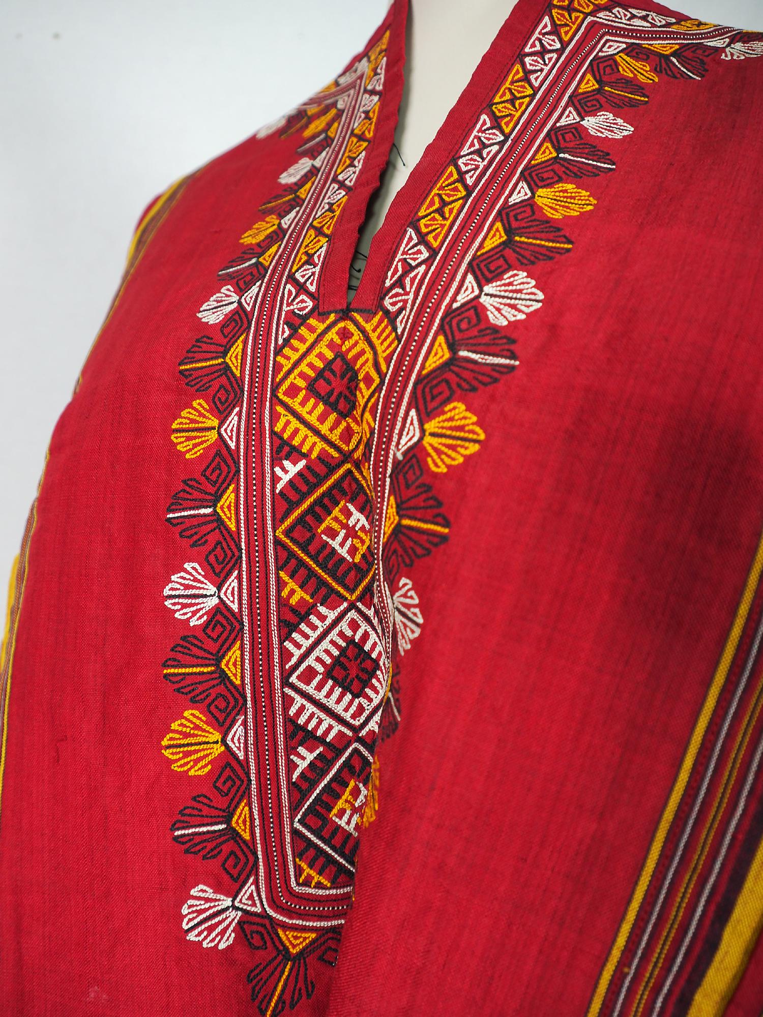 Antike Seiden Kleid aus Usbekistan No:21/11