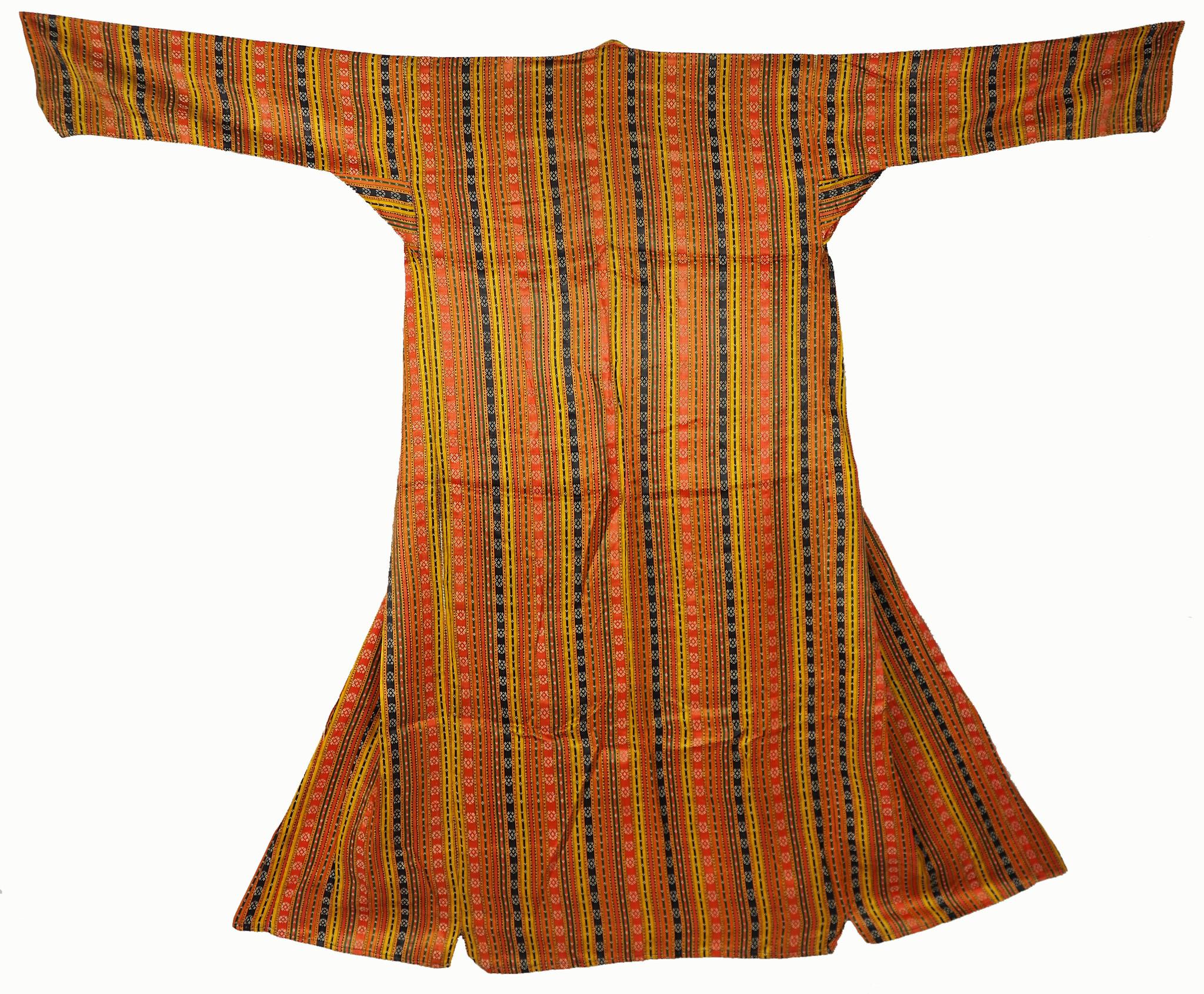 antique Persian Ethnic silk Chapan coat Chirpy  No-21/12
