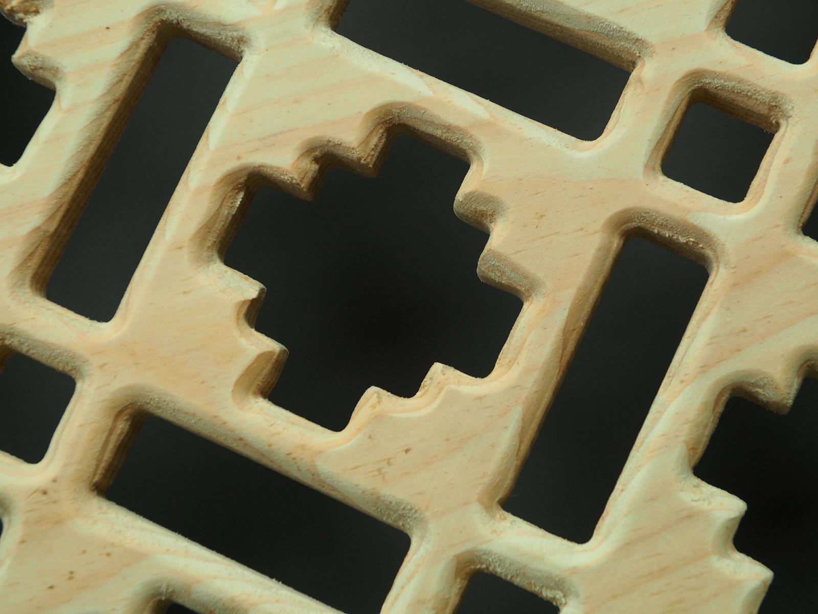 100x80 cm Maschrabiyya Jali  wooden grid