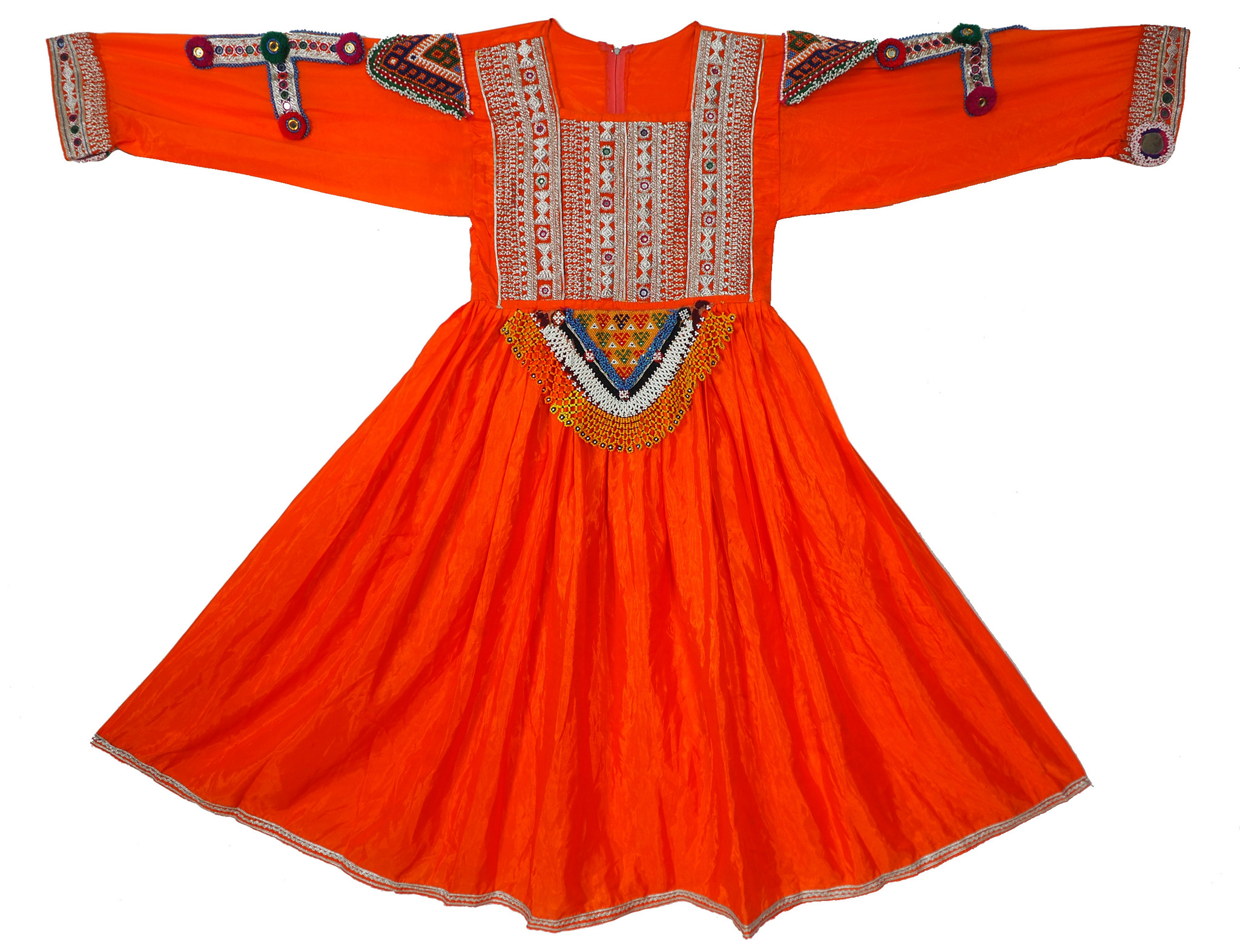 hand bestickt Nomaden kuchi frauen Hochzeit Tracht aus afghanistan  Nr-WL21-3